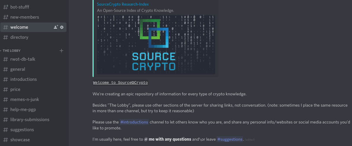 SourceCrypto Directory and Archive